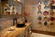 Фото 6 Столешницы для ванной комнаты (80+ моделей для современного интерьера): как выбрать, виды и материалы