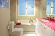 Фото 12 Столешницы для ванной комнаты (80+ моделей для современного интерьера): как выбрать, виды и материалы
