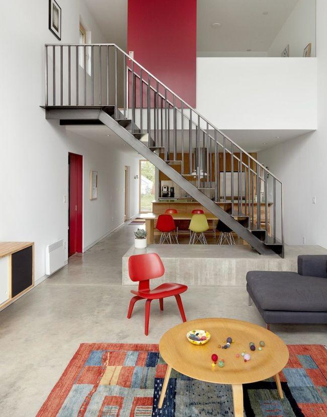 Танухаус внутри - практичное и функциональное жилище