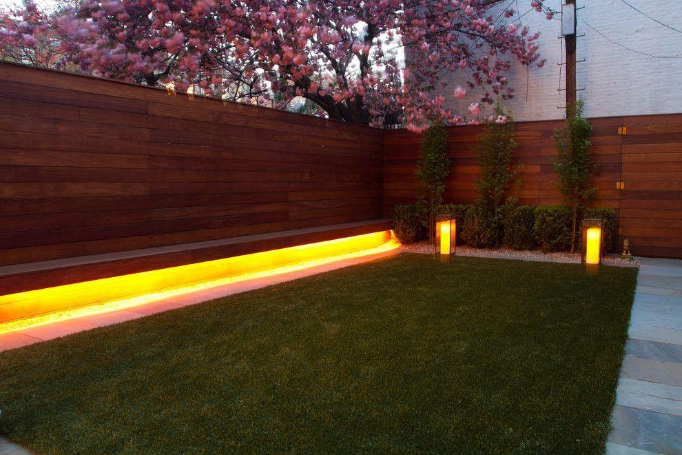 Подсветка скамейки светодиодной лентой