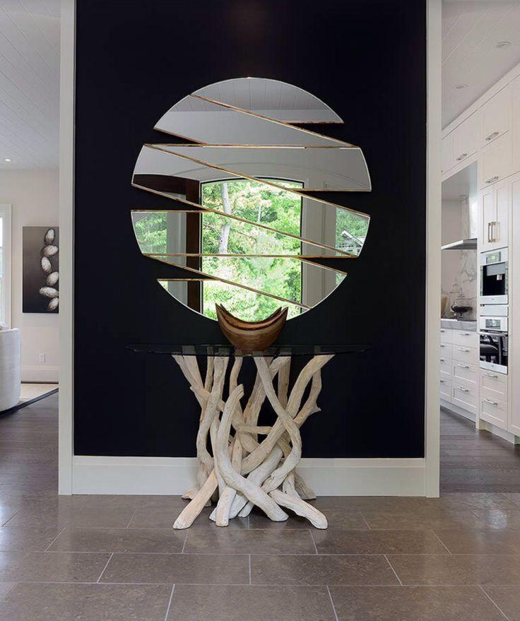 Зеркало, выполненное в виде ленты
