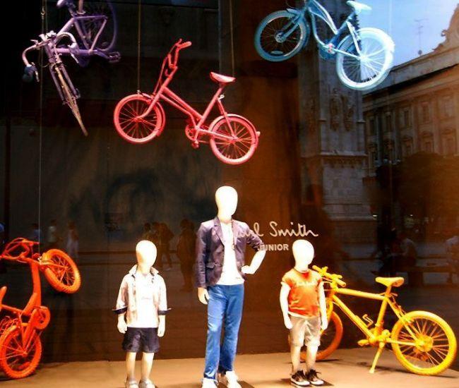 """""""Летающие"""" разноцветные велосипеды обязательно привлекут внимание детей и их родителей"""