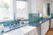 Фото 7 Занавески на кухню (44 фото): практично, модно, стильно