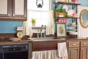 Фото 5 Занавески на кухню (44 фото): практично, модно, стильно
