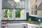Фото 3 Занавески на кухню (44 фото): практично, модно, стильно