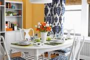 Фото 1 Занавески на кухню (44 фото): практично, модно, стильно