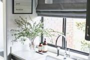 Фото 17 Занавески на кухню (44 фото): практично, модно, стильно