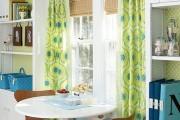 Фото 4 Занавески на кухню (44 фото): практично, модно, стильно