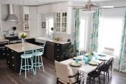 Фото 19 Занавески на кухню (44 фото): практично, модно, стильно