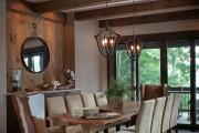 Фото 20 Кованые люстры (70+ фото): строгая изысканность в стильном интерьере