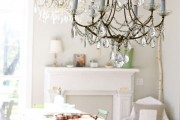 Фото 3 Кованые люстры (48 фото): строгая изысканность в стильном интерьере