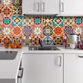 Керамическая плитка для кухни на фартук: особенности выбора и оформления фото