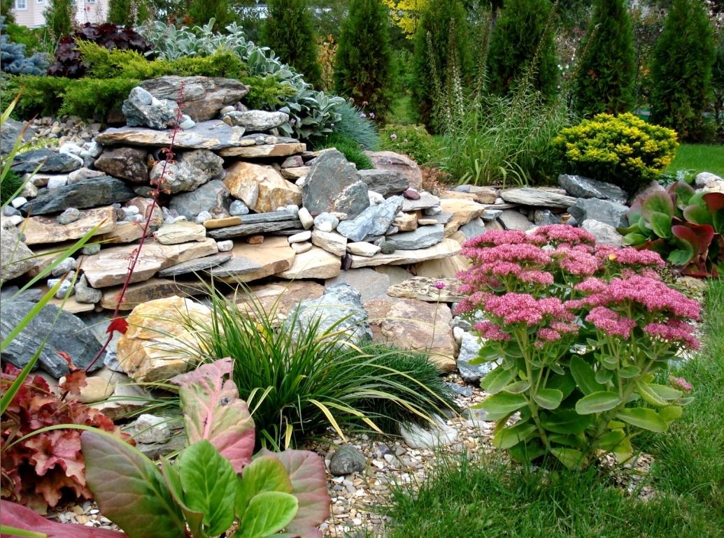 Альпинарий - «изюминка», способная мгновенно преобразить облик садового ландшафта
