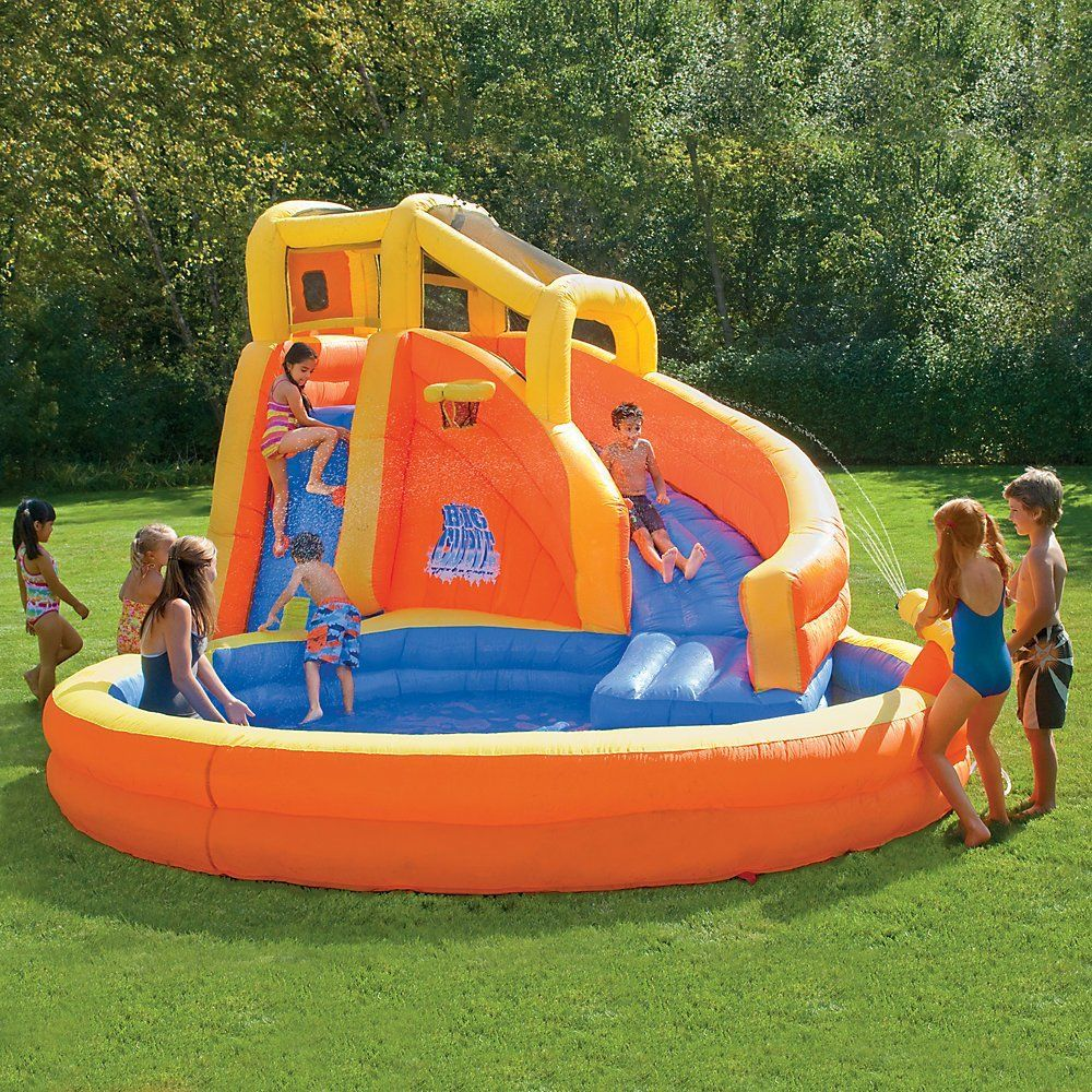 Надувной бассейн - игровой центр