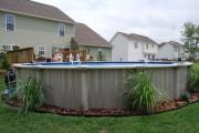 Фото 22 Бассейн на даче (72 фото): надувной, каркасный или бетонный?