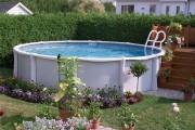 Фото 24 Бассейн на даче (72 фото): надувной, каркасный или бетонный?