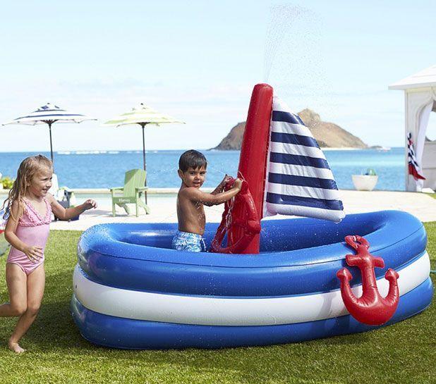 Игровой надувной бассейн-манеж