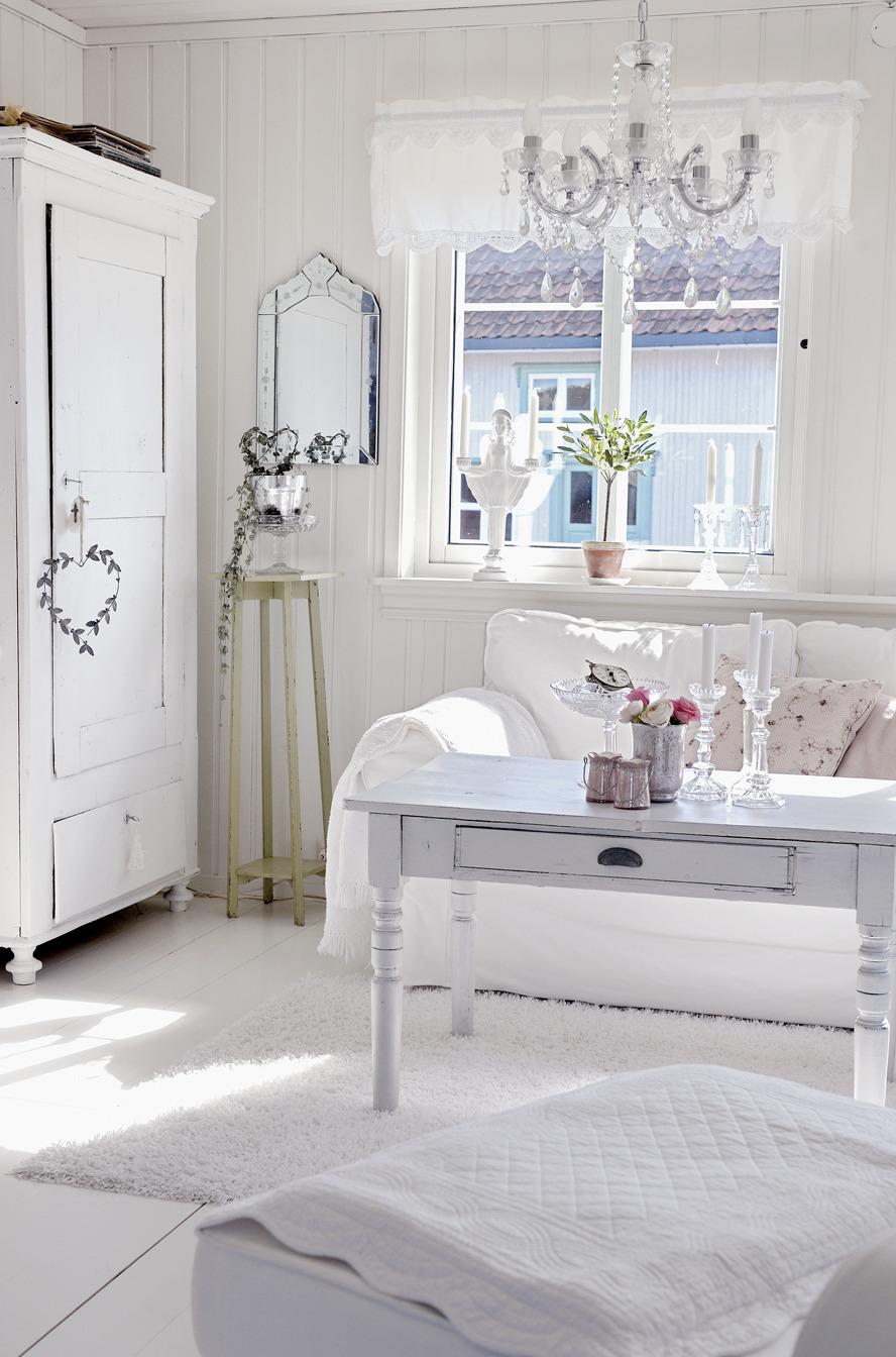 Шебби-шик стиль поможет сделать любой интерьер уютным и романтичным