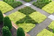 Фото 4 Ландшафтный дизайн дачного участка (106 фото): стили, варианты, идеи