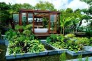 Фото 17 Ландшафтный дизайн дачного участка (106 фото): стили, варианты, идеи