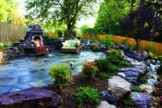 Фото 32 Ландшафтный дизайн дачного участка (106 фото): стили, варианты, идеи