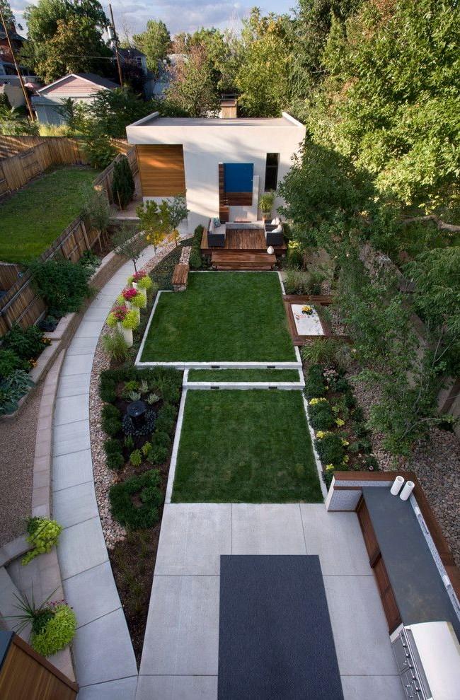 Продуманное использование территории участка позволит выгодно использовать все пространство участка