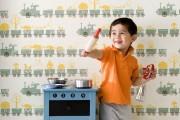 Фото 32 Детские обои для мальчиков: советы по выбору и 70 наиболее ярких и гармоничных примеров дизайна