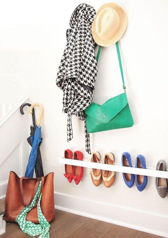 Креативная идея для хранения обуви
