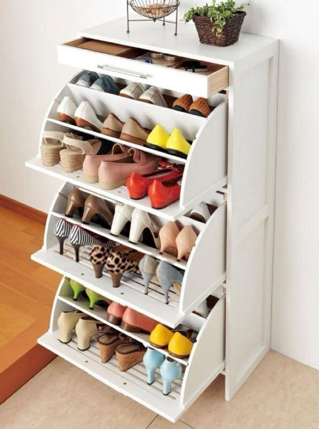 Обувница из МДФ - недорогая и практичная