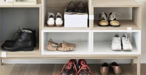 Обувница в прихожую (54 фото): удобно и компактно фото