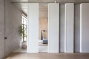 Фото 4 Раздвижные перегородки для зонирования пространства в комнате — 47 фото идей