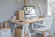 Фото 9 Письменный стол (47 фото): как выбрать хороший стол для работы