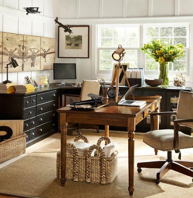 Функциональный письменный стол