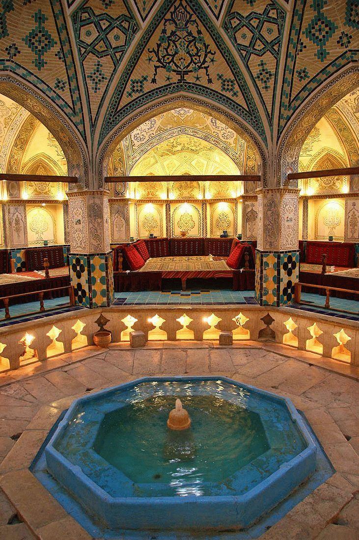 Баня хамам с прекрасными восточными узорами
