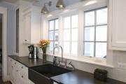 Фото 7 Раковина для кухни из искусственного камня (65+ фото): в поисках идеальной модели — советы дизайнеров