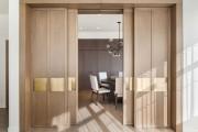 Фото 26 Раздвижные межкомнатные двери (63 фото): комфорт и функциональность