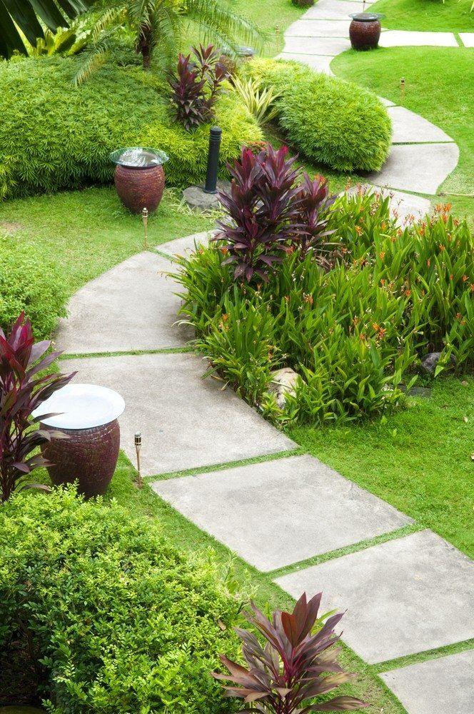 Устройство садовых дорожек своими руками фото 715