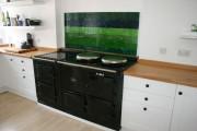 Фото 20 Скинали для кухни (46 фото): оригинальный и неповторимый интерьер кухни