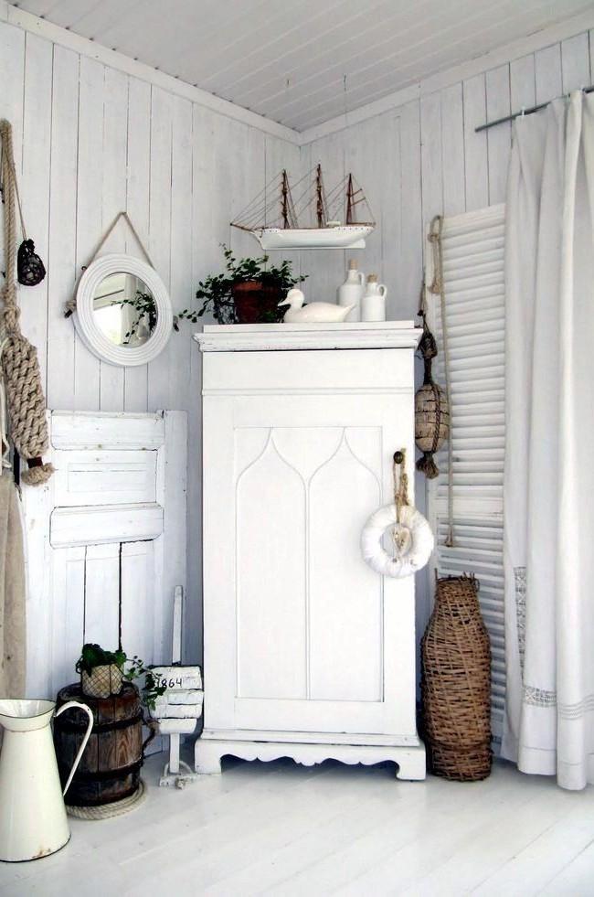 отреставрированная старая мебель - основа стиля шебби