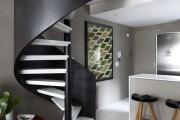 Фото 5 Винтовая лестница (50 фото): эффектные интерьерные решения