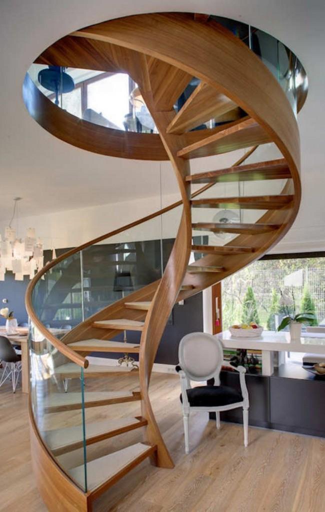 Элегантная винтовая лестница