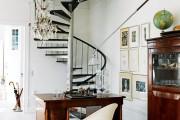 Фото 9 Винтовая лестница (50 фото): эффектные интерьерные решения