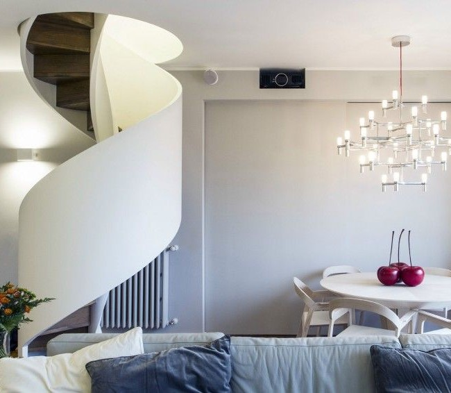 Лестница необычного дизайна