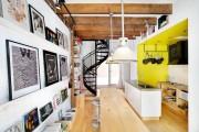 Фото 11 Винтовая лестница (50 фото): эффектные интерьерные решения