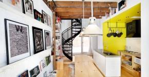 Винтовая лестница (50 фото): эффектные интерьерные решения фото