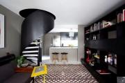 Фото 2 Винтовая лестница (50 фото): эффектные интерьерные решения