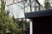 Фото 5 Витражное остекление фасадов (46 фото): практично и современно