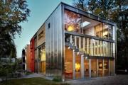 Фото 3 Витражное остекление фасадов (46 фото): практично и современно