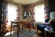 Фото 6 Фиолетовые шторы в интерьере: особенности настроения и выбор оттенков