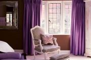 Фото 5 Фиолетовые шторы в интерьере: особенности настроения и выбор оттенков
